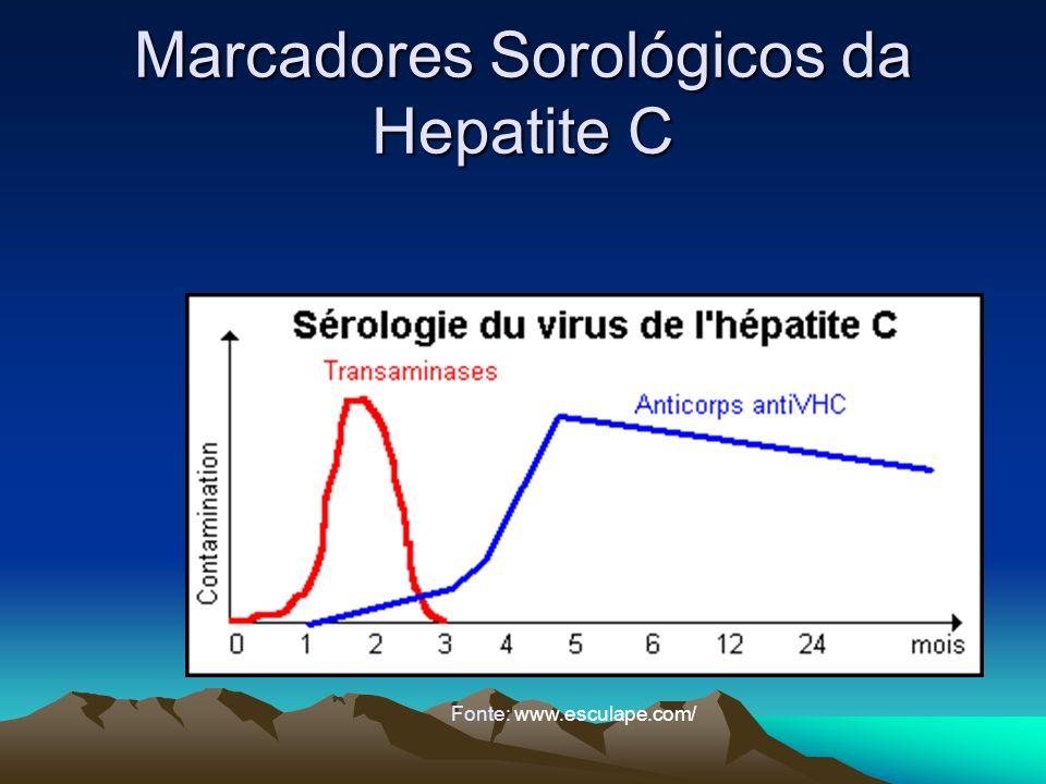 Marcadores Sorológicos da Hepatite C