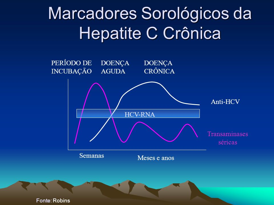 Marcadores Sorológicos da Hepatite C Crônica