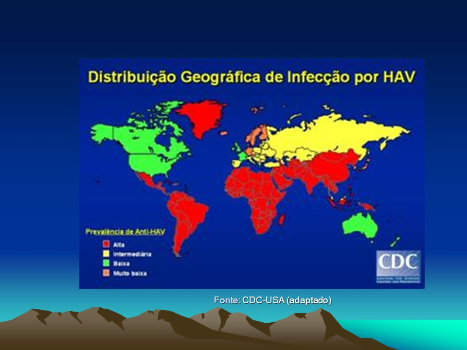 Fonte: CDC-USA (adaptado)