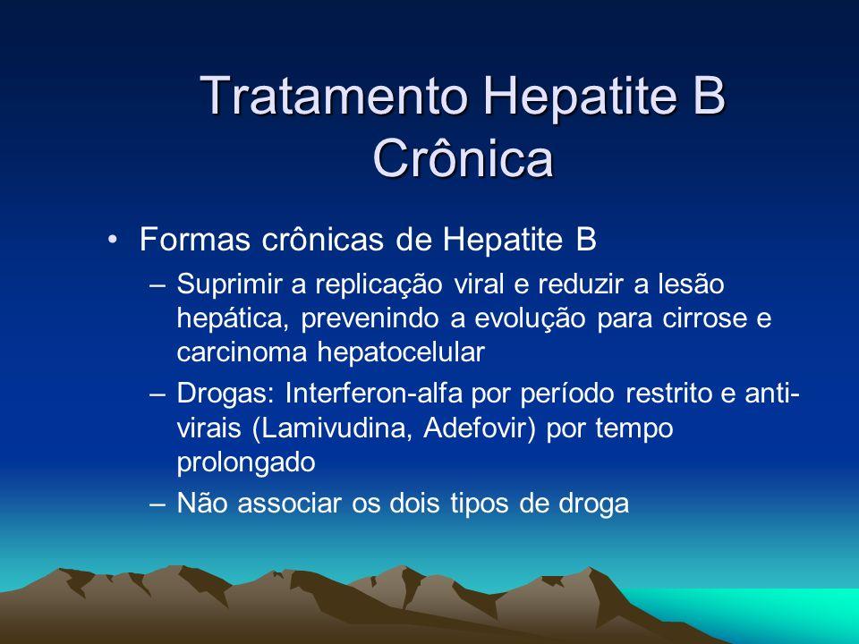 Tratamento Hepatite B Crônica