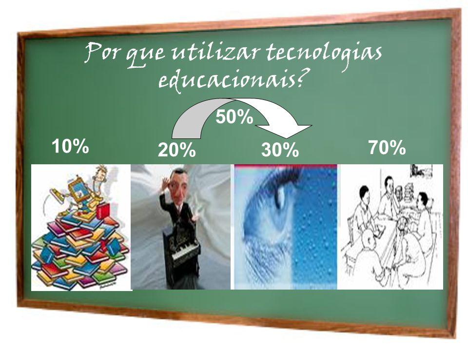 Por que utilizar tecnologias educacionais