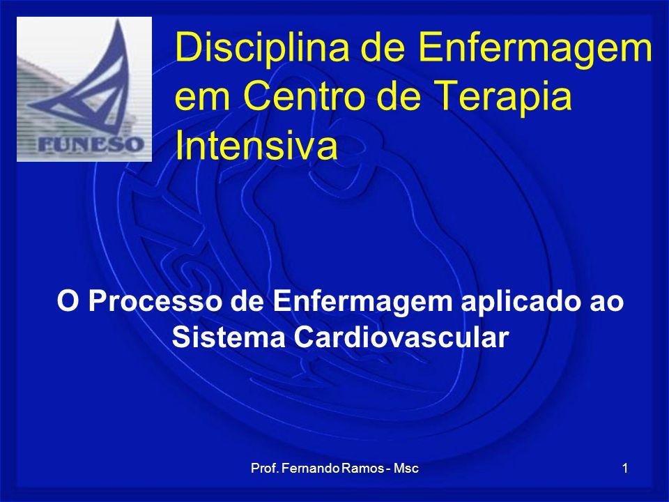Disciplina de Enfermagem em Centro de Terapia Intensiva