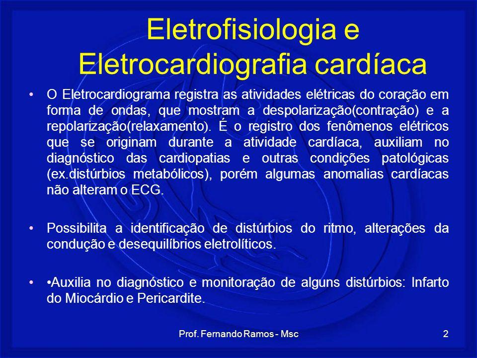 Eletrofisiologia e Eletrocardiografia cardíaca