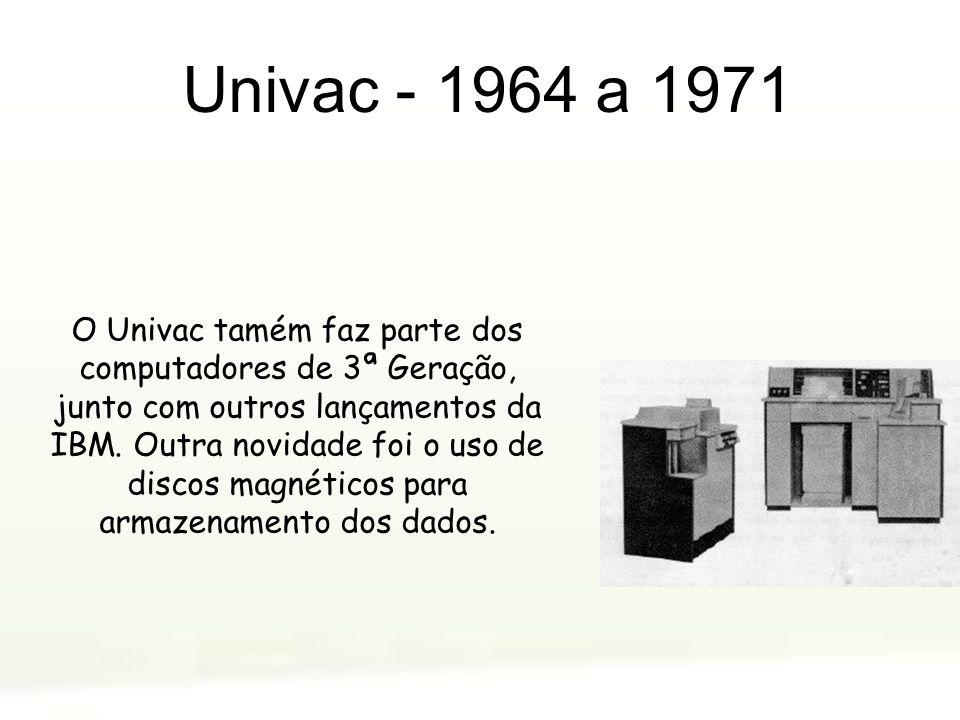 Univac - 1964 a 1971