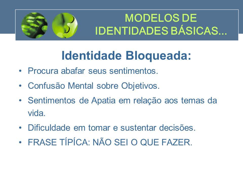 MODELOS DE IDENTIDADES BÁSICAS...