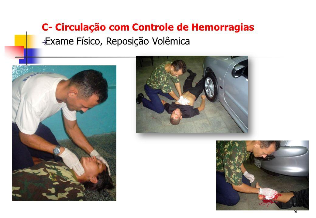 C- Circulação com Controle de Hemorragias