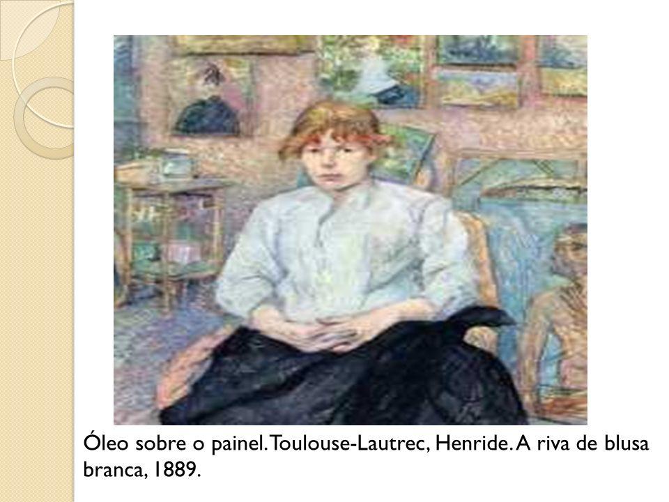 Óleo sobre o painel. Toulouse-Lautrec, Henride