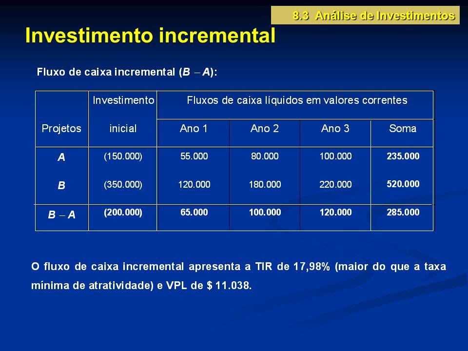Investimento incremental