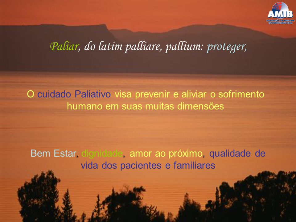 Paliar, do latim palliare, pallium: proteger,