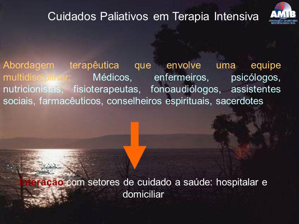 Cuidados Paliativos em Terapia Intensiva