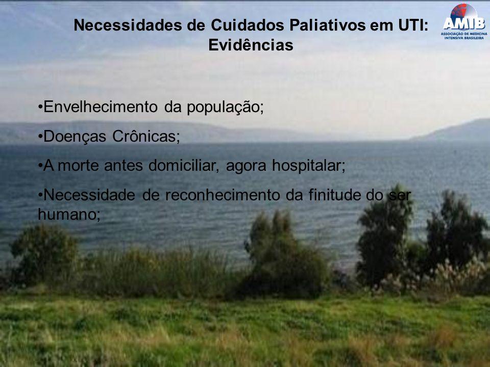 Necessidades de Cuidados Paliativos em UTI: Evidências