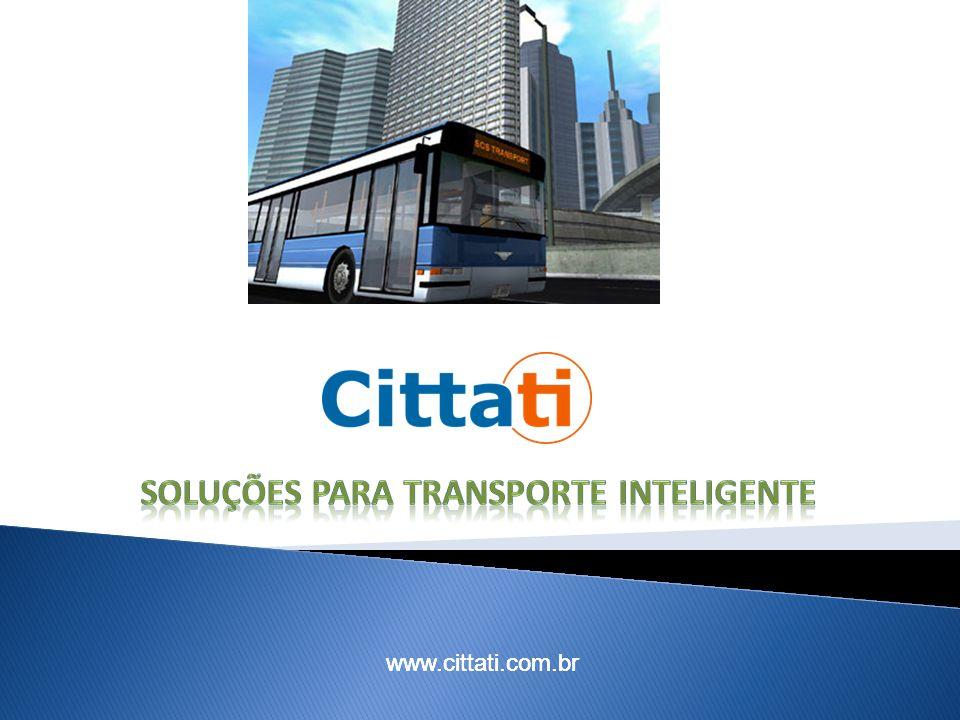 Soluções para transporte inteligente