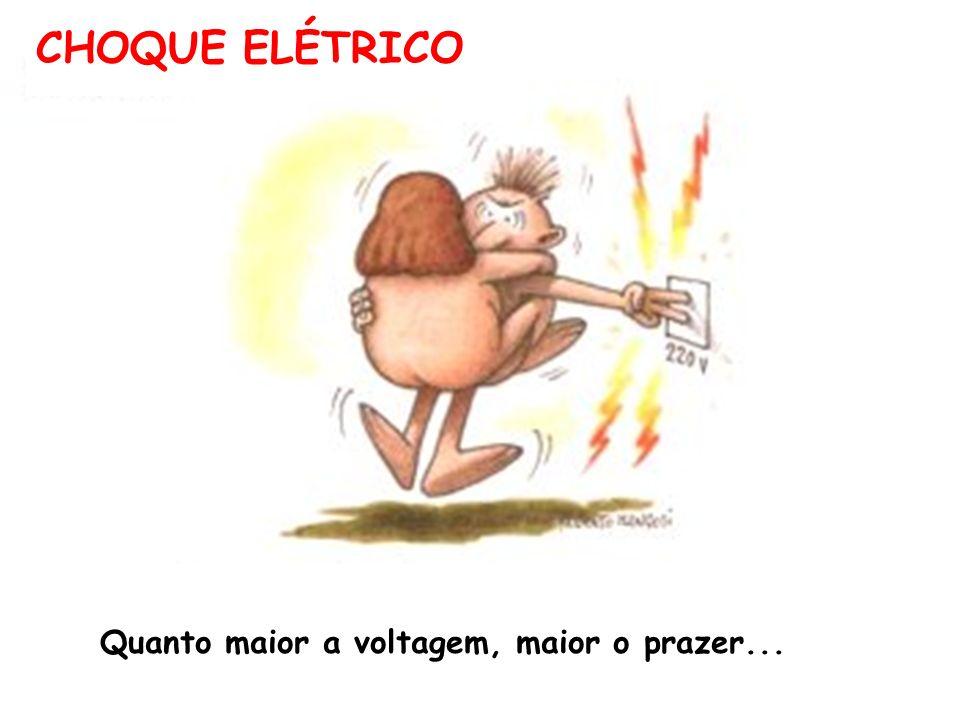 Quanto maior a voltagem, maior o prazer...