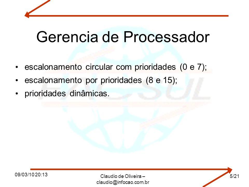 Gerencia de Processador