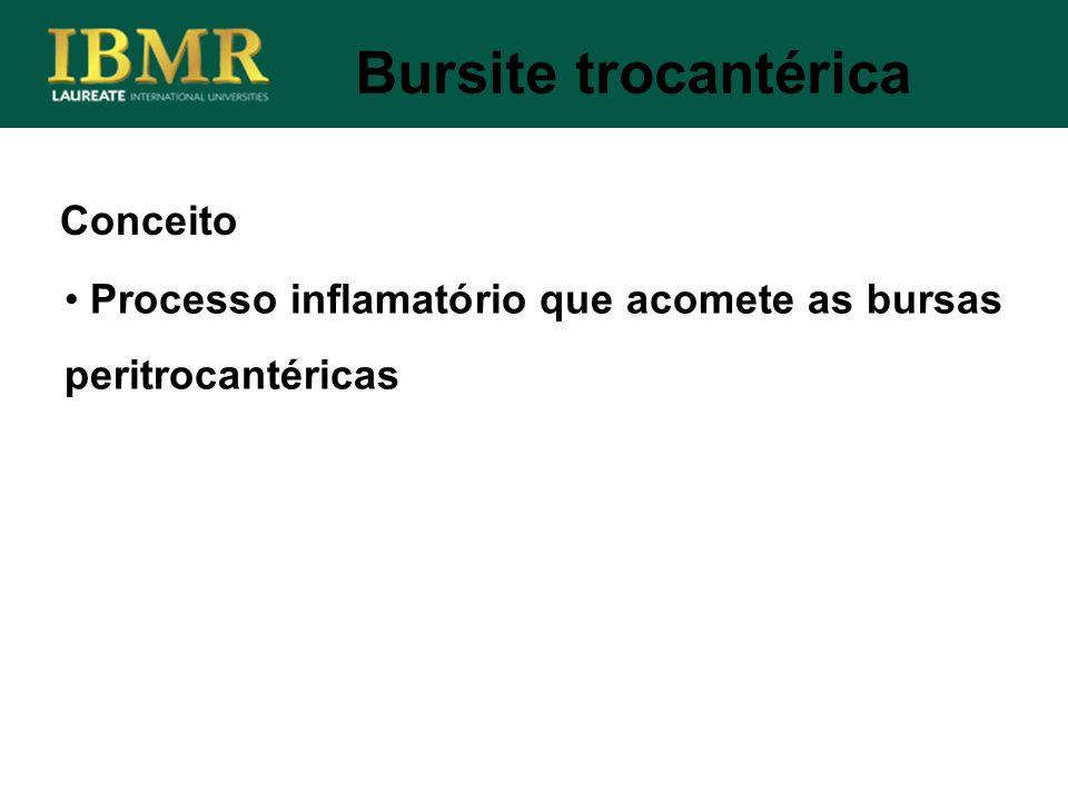 Bursite trocantérica Conceito
