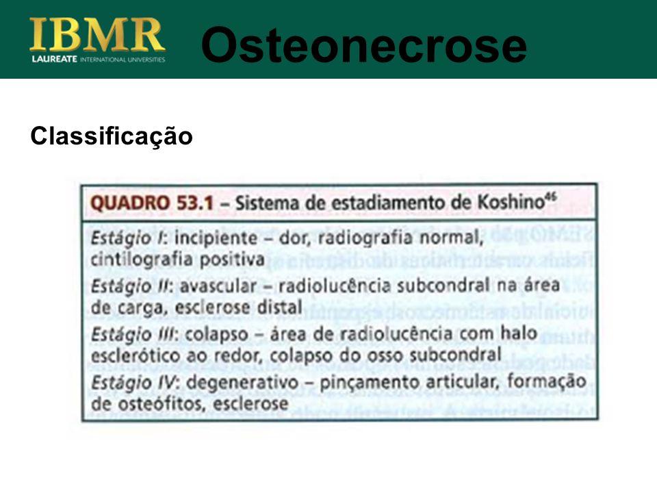 Osteonecrose Classificação