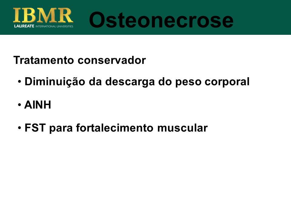 Osteonecrose Tratamento conservador