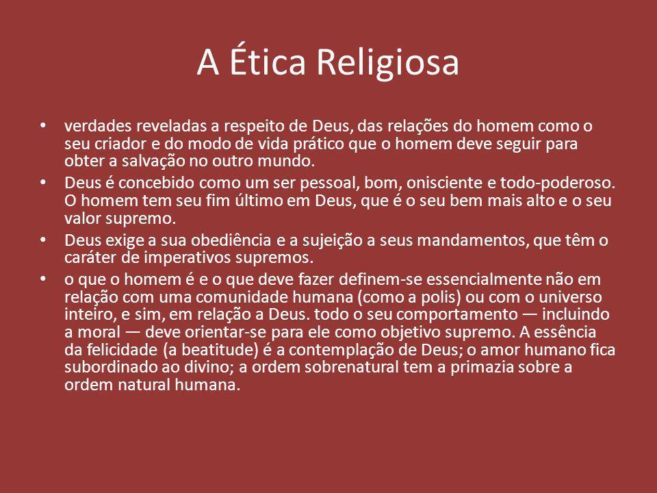 A Ética Religiosa