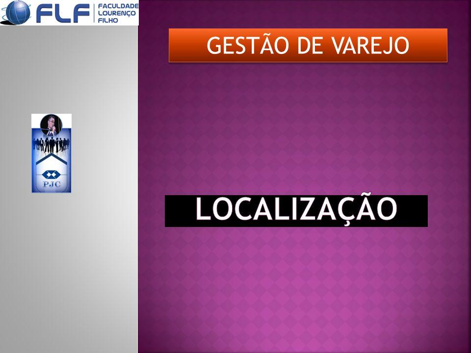 GESTÃO DE VAREJO LOCALIZAÇÃO