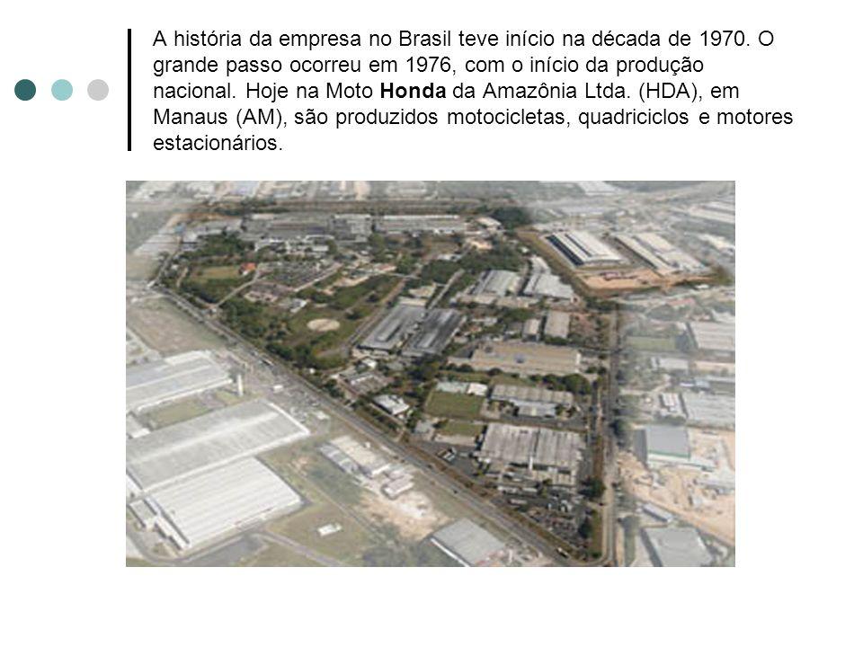 A história da empresa no Brasil teve início na década de 1970