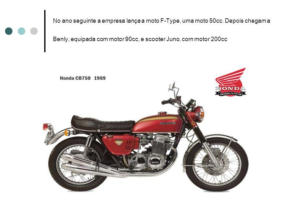 No ano seguinte a empresa lança a moto F-Type, uma moto 50cc