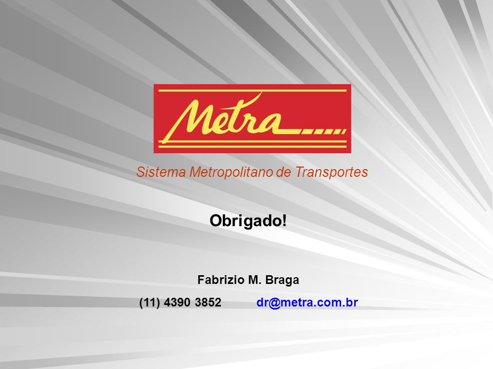Sistema Metropolitano de Transportes