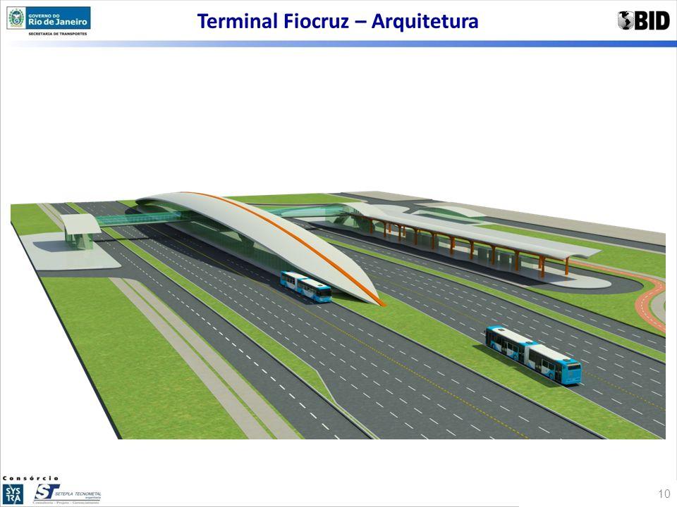 Terminal Fiocruz – Arquitetura