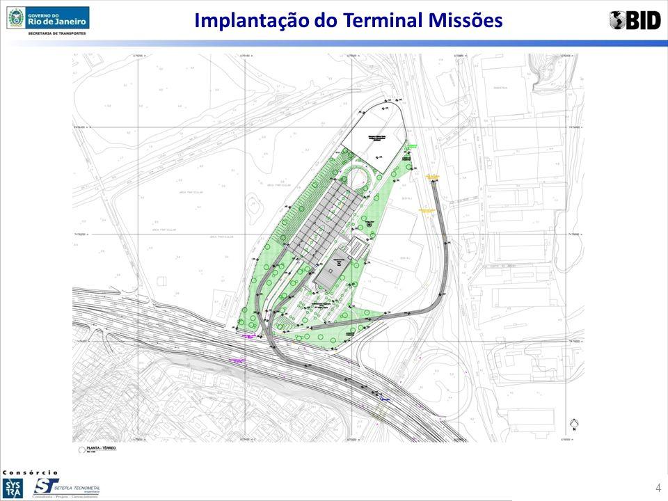 Implantação do Terminal Missões