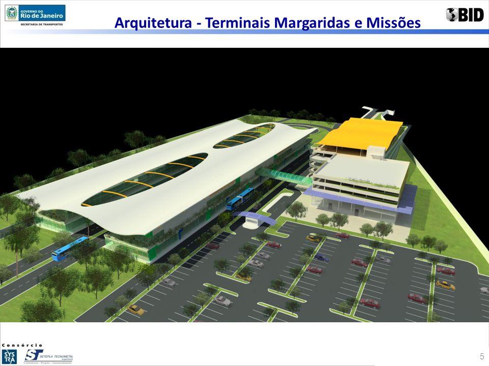 Arquitetura - Terminais Margaridas e Missões