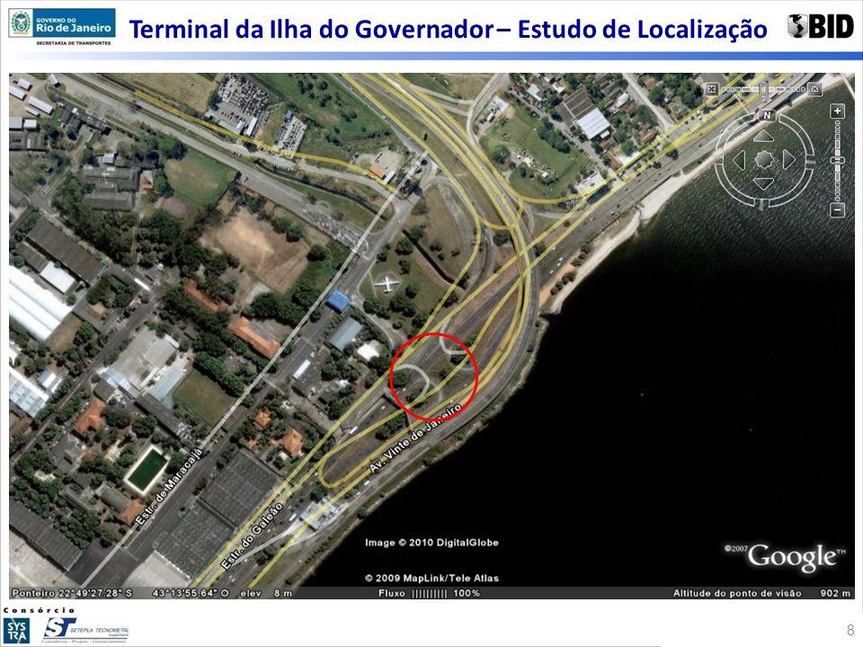 Terminal da Ilha do Governador – Estudo de Localização