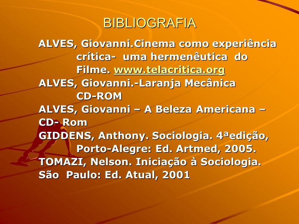BIBLIOGRAFIA crítica- uma hermenêutica do Filme. www.telacritica.org