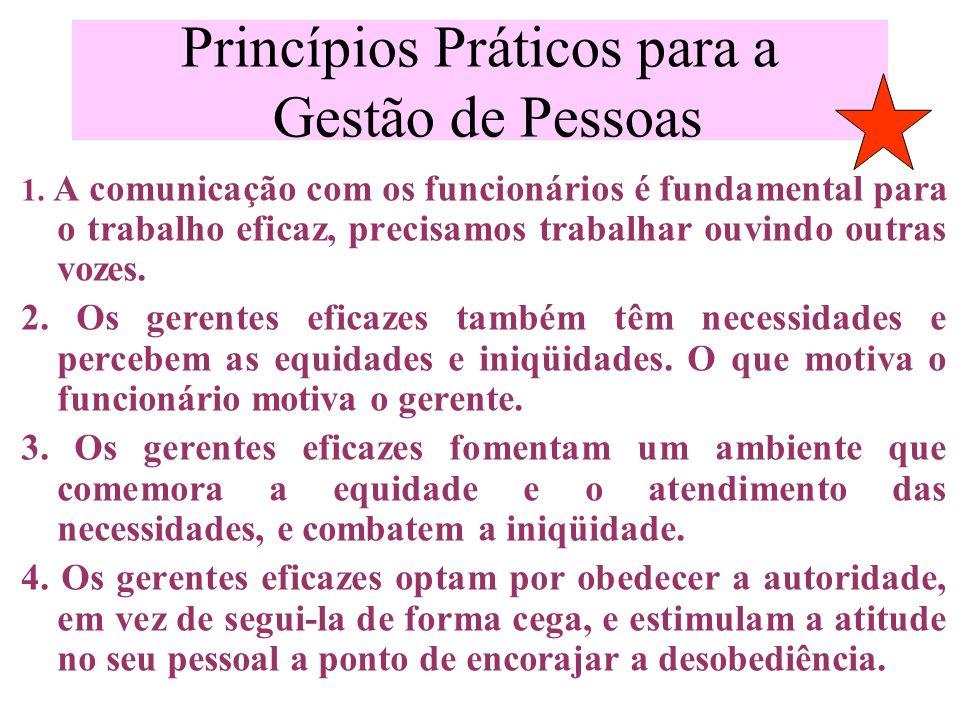 Princípios Práticos para a Gestão de Pessoas