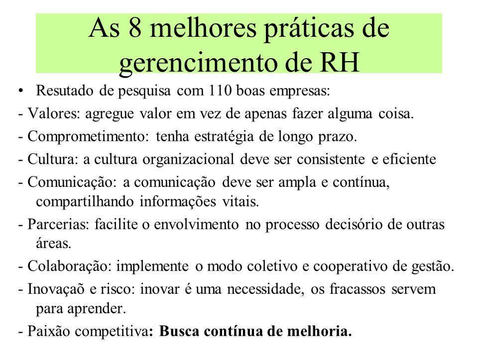 As 8 melhores práticas de gerencimento de RH