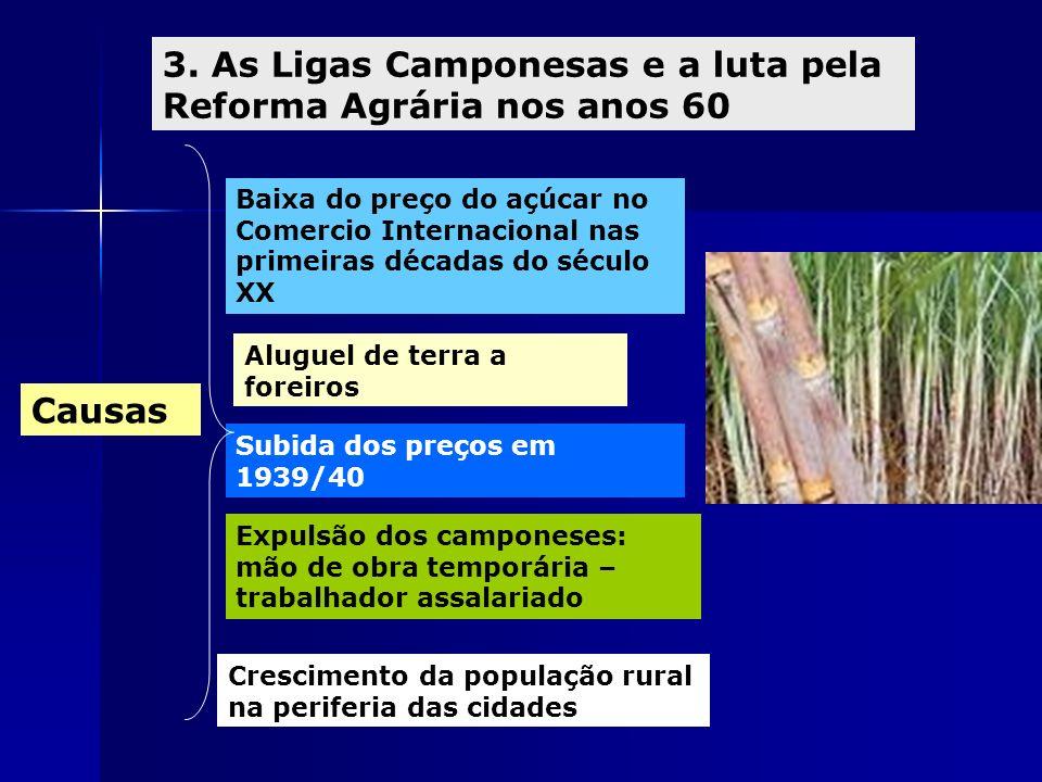 3. As Ligas Camponesas e a luta pela Reforma Agrária nos anos 60