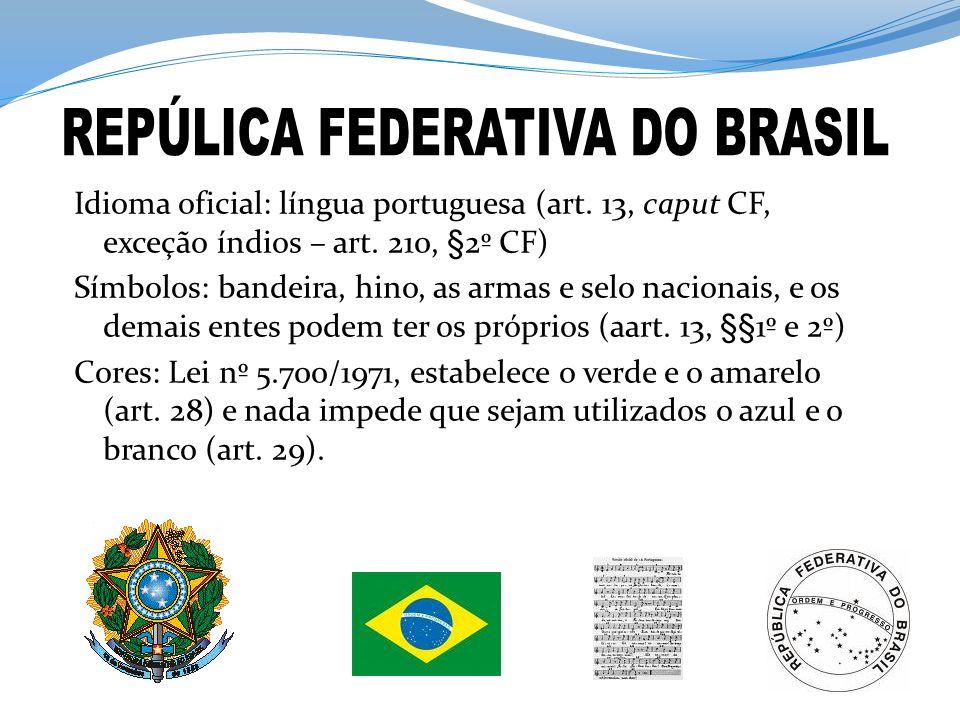REPÚLICA FEDERATIVA DO BRASIL