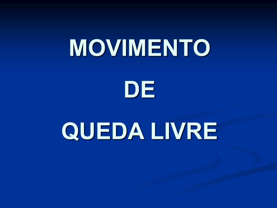 MOVIMENTO DE QUEDA LIVRE