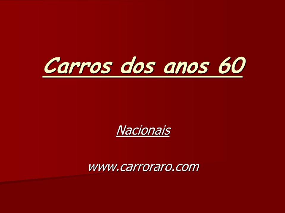 Nacionais www.carroraro.com
