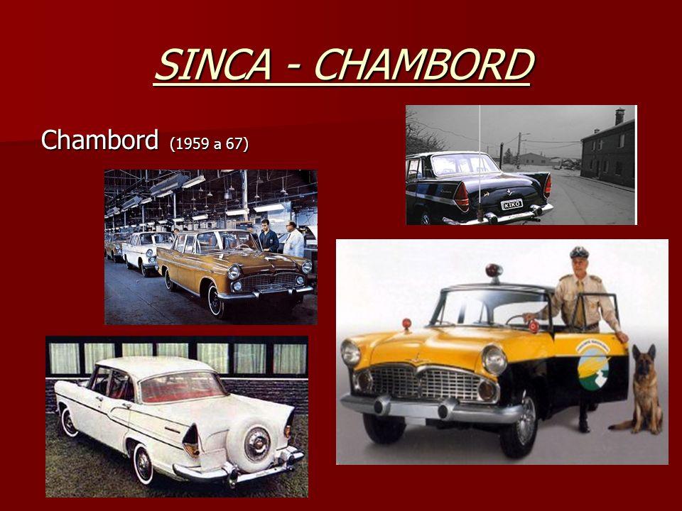 SINCA - CHAMBORD Chambord (1959 a 67)