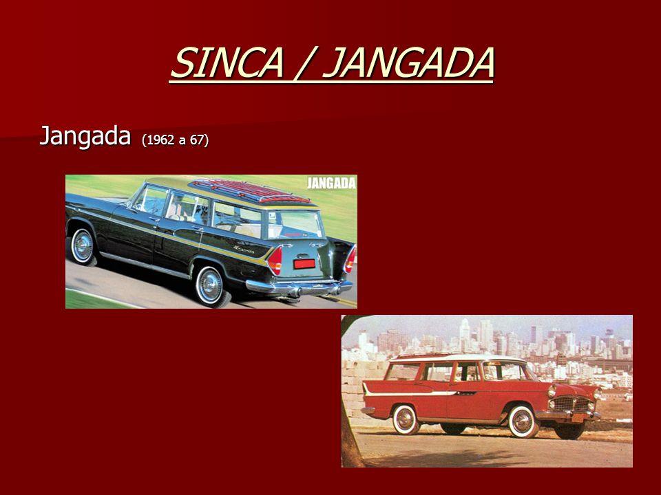 SINCA / JANGADA Jangada (1962 a 67)