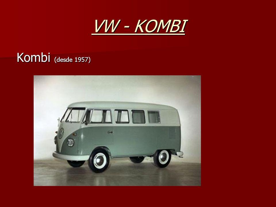 VW - KOMBI Kombi (desde 1957)
