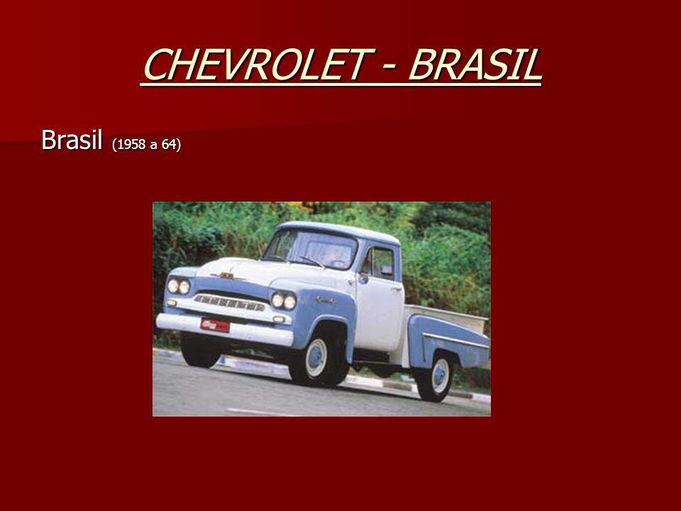 CHEVROLET - BRASIL Brasil (1958 a 64)