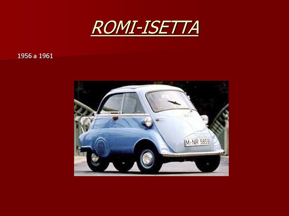 ROMI-ISETTA 1956 a 1961
