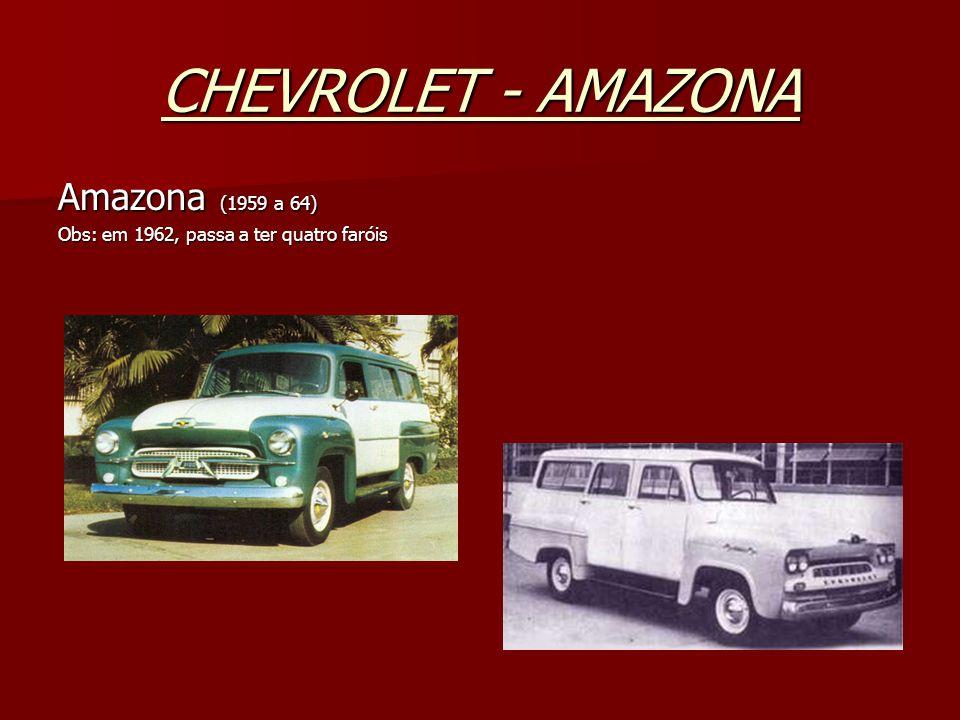 CHEVROLET - AMAZONA Amazona (1959 a 64)