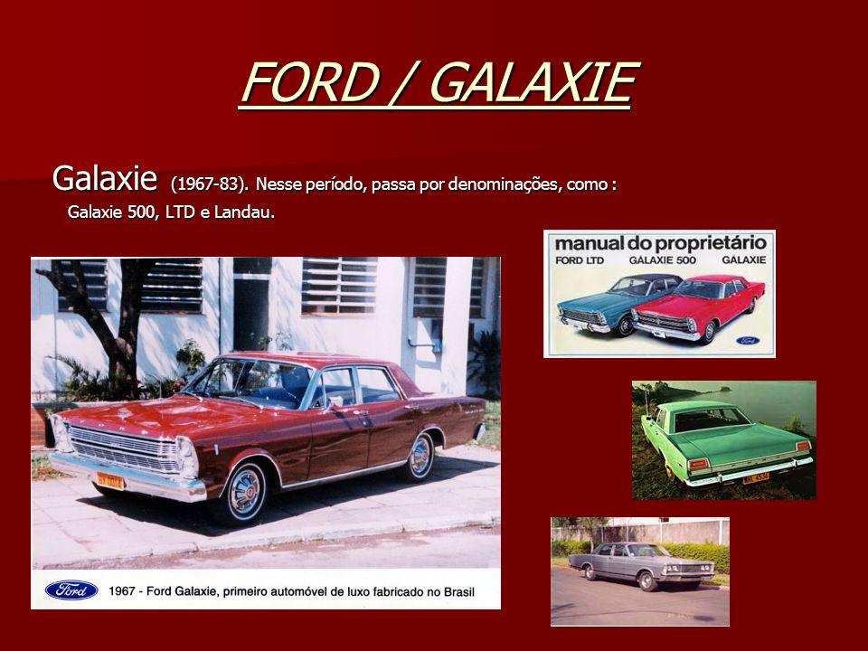 FORD / GALAXIEGalaxie (1967-83).