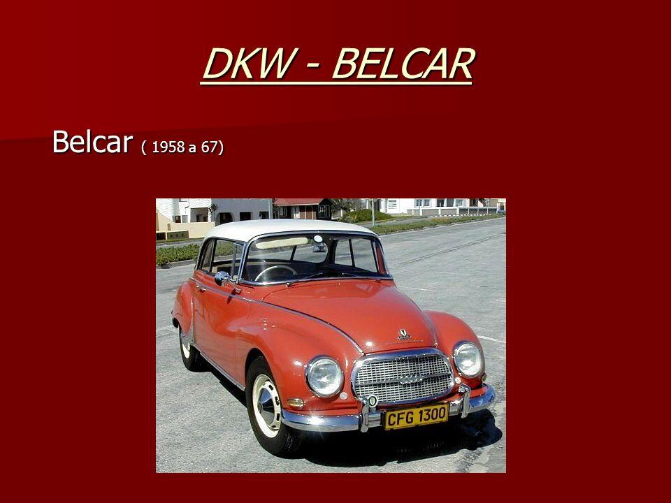 DKW - BELCAR Belcar ( 1958 a 67)