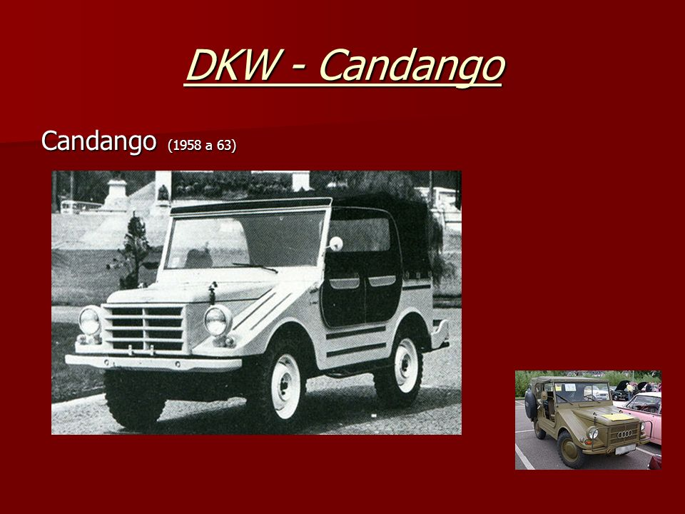 DKW - Candango Candango (1958 a 63)