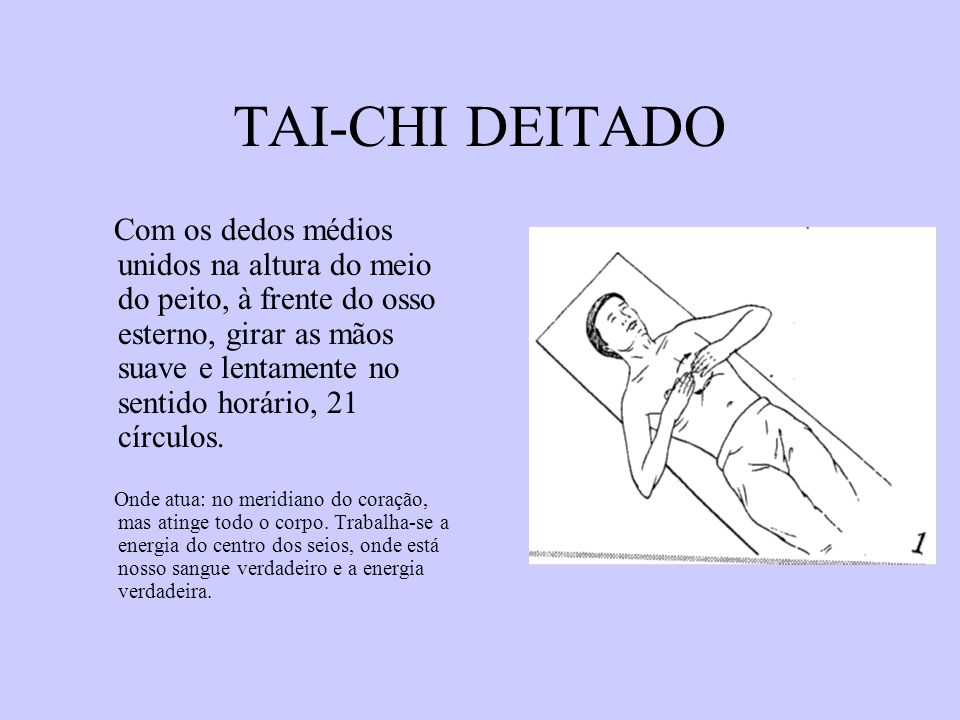 TAI-CHI DEITADO