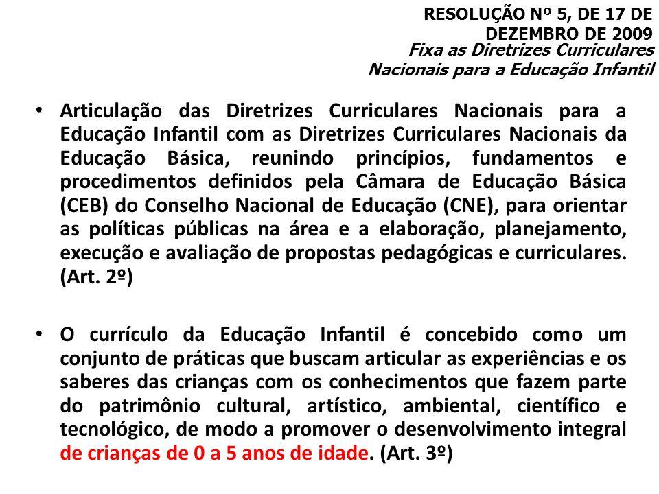 RESOLUÇÃO Nº 5, DE 17 DE DEZEMBRO DE 2009