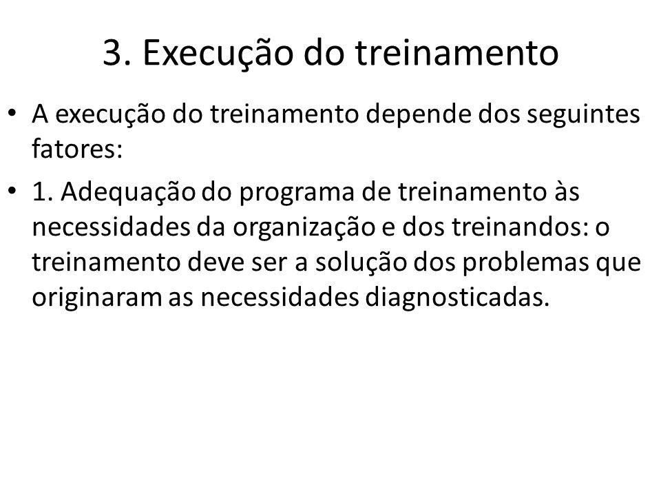 3. Execução do treinamento