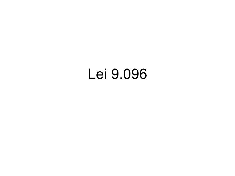 Lei 9.096